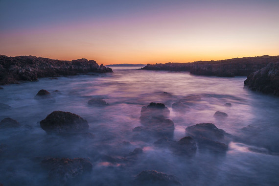 Interesting Photo of the Day: Dreamy Long Exposure of an Ocean Cove