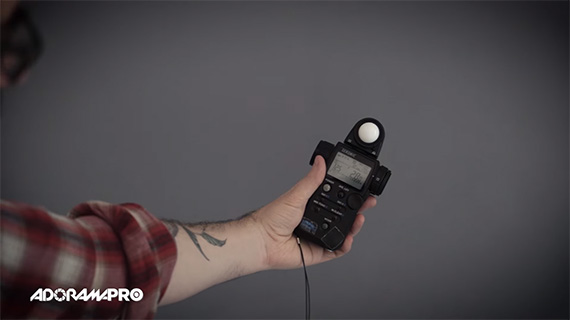 How to Use a Hand-Held Light Meter